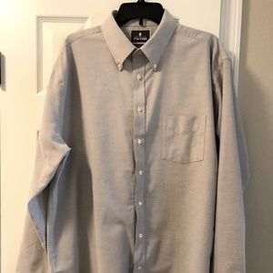 Stafford Regular Fit Wrinkle Fit Oxford Shirt